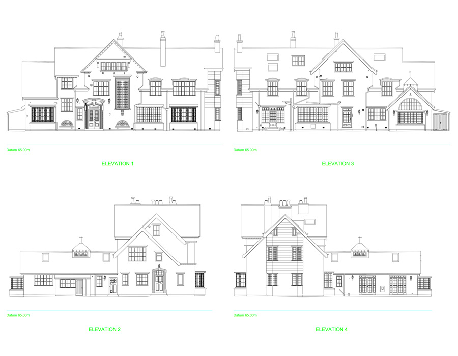 Floor Elevation Survey : Measured building surveys in cheshire staffordshire